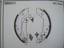 Peugeot 306 brake shoes (mbs511) (93 - 97)