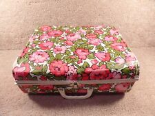 Vintage 1940's Or 1950's Vintage Barbie Dolls Or Baby Dolls Cloth's Suit Case