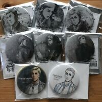 Attack on Titan - Can Badge - Erwin - birthday promo limited