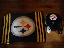 PITTSBURG STEELERS FOOTBALL HELMET PILLOW AND PILLOW CASE