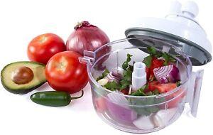 Salsa Master Salsa Maker - As Seen On TV Food Chopper & Manual Food Processor