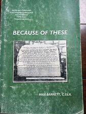 BECAUSE OF THESE MAX BARRETT Irish Background Australian Family History Ireland