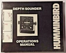 HUMMINBIRD DEPTH SOUNDER OPERATIONS MANUAL, SUPER THIRTY II, SUPER SIXTY II