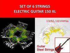 SET 6 CUERDAS GUITARRA ELECTRICA XL150/.022/009 ELECTRIC GUITAR 6 STEEL STRINGS
