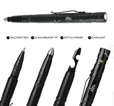 Tactical Pen Multi Tool LED Tactical Flashlight Torch - Tungsten Steel Gift Box