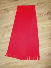 weicher Schal Fleece mit Fransen, Rot
