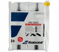 Babolat Pro Tacky Over Grip Tennis Racket Racquet White 12 PCS Tacky 140605