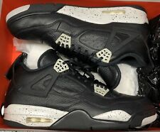Jordan Retro IV 4 LS Oreo Black Tech Grey Fear Bred 314254-003 Sz 13
