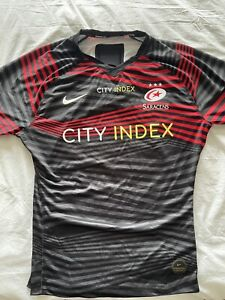 Official Match Day Player Issue Nike Saracens Rugby Shirt. XL 20/21.