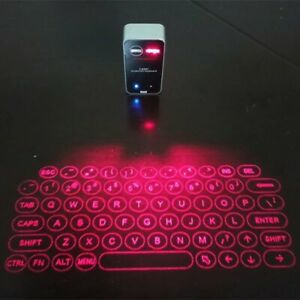 Bluetooth Laser Projection Keyboard/Mouse for PC~Android~iOS~Game Consoles
