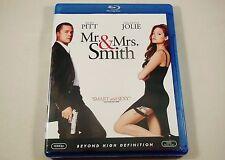 Mr. and Mrs. Smith Blu-ray Brad Pitt, Angelina Jolie, Vince Vaughn, Adam Brody
