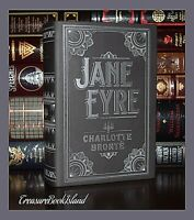 Jane Eyre by Charlotte Bronte Brand New Leather Bound Collectible Deluxe Edition