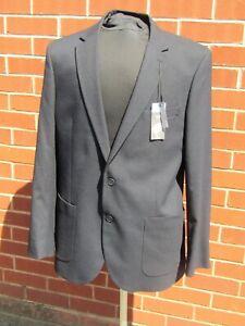 Marks & Spencer's blue regular fit blazer suit jacket BNWT UK 44 EU 54
