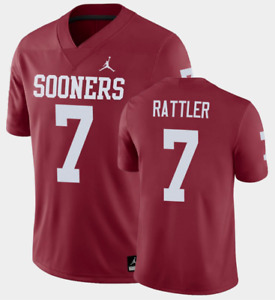 Oklahoma Sooners Spencer Rattler Jersey - Choose Color and Size