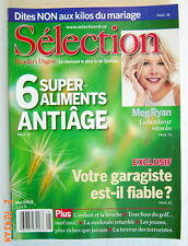 SÉLECTION DU READER'S DIGEST DE MAI 2002, EN COUVERTURE: MEG RYAN