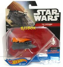 Hot Wheels Star Wars THE KHETANNA Jabba's Sail Barge #29 Garbage Scow Disney New