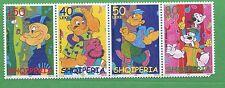 2003 Popeye Set of 4 MNH Albania Stamps - E23-26