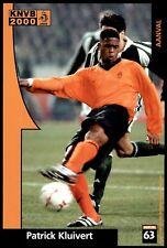 Voetbal International Fotokaarten KNVB 2000 - Patrick Kluivert No. 63