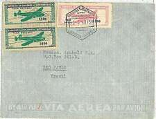 portuguese colony  MOZAMBIQUE -  POSTAL HISTORY:  airmail COVER  to BRAZIL 1948
