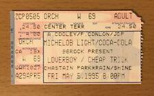 1995 Loverboy / Cheap Trick Atlanta Concert Ticket Stub Get Lucky Surrender