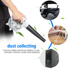 220V 500W Electric Air Blower Handheld Computer Car Dust Garden Leaf Cleaner EB
