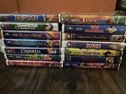 Vintage Lot 14 Disney VHS Movies, Beauty And The Beast, Dumbo, Pinocchio picture