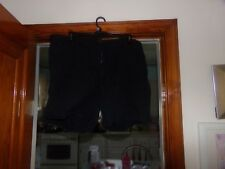 1 WOMANS BASIC EDITIONS BLACK 22W SHORTS CUFFED BOTTOMS
