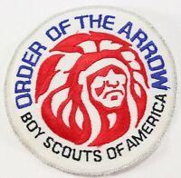 Vintage 80s Order Arrow OA WWW Boy Scouts America Twill Large Backpack BSA Patch
