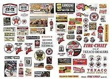 JL Innovative 484 HO 1930-50's Vintage Texaco Gas Station Posters/Signs (82)