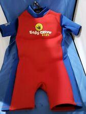 BODY GLOVE KIDS NEOPRENE SHORTY BODY WET SUIT CHILD MEDIUM 40-50 LBS