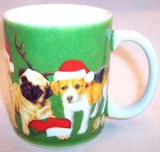 Colorbok Puppy Christmas Mug, German Shepherd, Dalmation, Golden Retriever, Pug