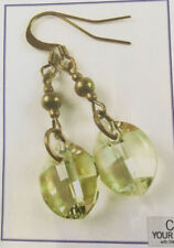 Jilly Bead Autumn Glory: Luminous Green Earring Jewelry Making Kit