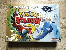 POKEMON STADIUM 2 II - Nintendo 64 N64 - Pal Version NOE ALLEMAND German BOX