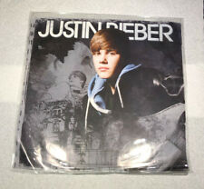 """JUSTIN BIEBER Pray / Never Say Never (Acoustic) 10"""" Clear Vinyl RARE 2010"""