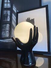 Mid Century Design 70's table lamp hands Space Age Pop Art Tischlampe