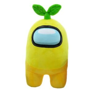 Among Us 12 Inch Plush - Yellow with Plant