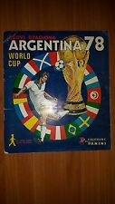 ARGENTINA 1978 FIFA 78 WC  WORLD CUP COMPLETELY FULL ALBUM  PANINI DECJE NOVINE