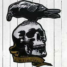 The Expendables Crow & Skull Big Embroidered Patch for back Barney Ross Stallone