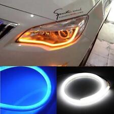 30/45/60/85cm Flexible Car Soft Tube LED Strip Light DRL Daytime Running Lamp
