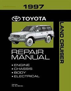 1997 Toyota Land Cruiser OEM Repair Manual