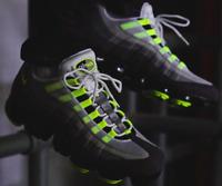 f98d5c8b320ba Nike Air Vapormax 95 Neon size 13. AJ7292-001 Black Volt Medium Ash.