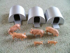 Britain's Farm Pigs & Arcs job lot Sows, Boar and Piglets