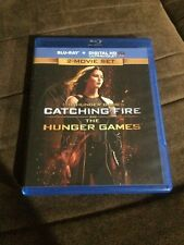 Blu Ray 2-movie Set The Hunger Games & Catching Fire No Digital HD