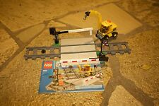 LEGO CITY Train Level Crossing 7936- 100% Complete with Booklet- RETIRED