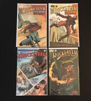 IDW Publishing Presents Rocketeer Lot of 4 Comics Cargo of Doom Hollywood Horror