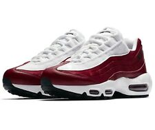 """WOMENS NIKE AIR MAX 95 LX NSW TRAINERS UK SIZE 4.5 IN """"RED CRUSH & WHITE"""""""