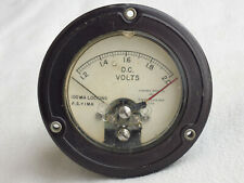 DC Volt Gauge, Assembly Products Inc, Volts, Vintage Steampunk