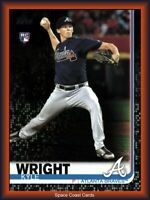 2019 TOPPS SERIES 2 #473 KYLE WRIGHT RC BLACK PARALLEL BRAVES ROOKIE SP /67