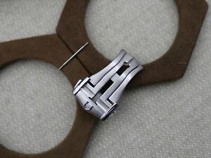 Brushed Omega Deployment Clasp 18 mm - Omega Buckle 18 mm - Omega Clasp 18 mm