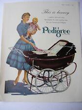 ORIGINAL 1955  ADVERT FOR PEDIGREE PRAM